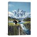 iCanvasArt 'Eagle Mountain' by John Van Straalen Painting Print on Canvas
