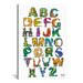 <strong>Dinosaur Alphabet by David Russo Graphic Art on Canvas</strong> by iCanvasArt