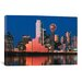 iCanvasArt Panoramic Digital Composite, Dallas, Texas Photographic Print on Canvas
