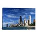 iCanvasArt Downtown Chicago Photographic Print on Canvas