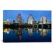 <strong>iCanvasArt</strong> Panoramic Town Lake, Austin, Texas Photographic Print on Canvas
