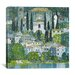 iCanvasArt 'Kirche in Cassone' by Gustav Klimt Painting Print on Canvas