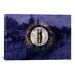 iCanvasArt Kentucky Flag, the Kentucky Derby with Paper Grunge Graphic Art on Canvas