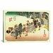 <strong>'Fujieda' by Utagawa Hiroshige Painting Print on Canvas</strong> by iCanvasArt