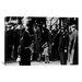 iCanvasArt John F. Kennedy Jr. Salutes His Father's Coffin along with the Honor Guard, 1963 Photographic Print on Canvas