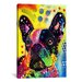 <strong>'French Bulldog' by Dean Russo Graphic Art on Canvas</strong> by iCanvasArt