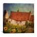 "<strong>iCanvasArt</strong> ""Gardenhouse Chenonceau"" Canvas Wall Art by Dawne Polis"