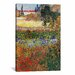 <strong>'Flowering Garden' by Vincent van Gogh Painting Print on Canvas</strong> by iCanvasArt