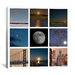 """<strong>iCanvasArt</strong> """"Luna"""" Canvas Wall Art by Geoffrey Ansel Agrons"""