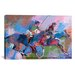 iCanvasArt 'Polo' by Richard Wallich Painting Print on Canvas