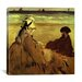 "<strong>""On the Beach (Sur La Plage)"" Canvas Wall Art by Edouard Manet</strong> by iCanvasArt"