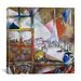 "<strong>iCanvasArt</strong> ""Paris Through the Window, 1913"" Canvas Wall Art by Marc Chagall"