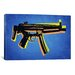 <strong>iCanvasArt</strong> 'MP5 Sub Machine Gun' by Michael Tompsett Graphic Art on Canvas
