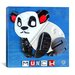 <strong>iCanvasArt</strong> Munch the Panda (License plate art) from Design Turnpike collection Canvas Wall Art