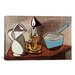 <strong>'Pitcher, Candle and Casserole' by Pablo Picasso Painting Print on ...</strong> by iCanvasArt