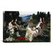 <strong>'Saint Cecilia' by John William Waterhouse Painting Print on Canvas</strong> by iCanvasArt