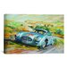 iCanvasArt Cars and Motorcycles Mercedes 300 Sl Racing Painting Print on Canvas