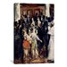 iCanvasArt 'Masked Ball at the Opera' by Edouard Manet Painting Print on Canvas