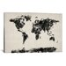 <strong>'Map of The World Paint Splashes' by Michael Tompsett Painting Prin...</strong> by iCanvasArt