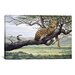 <strong>iCanvasArt</strong> 'Leopard' by Harro Maass Painting Print on Canvas