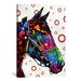 <strong>iCanvasArt</strong> 'Lonely Horse' by Dean Russo Graphic Art on Canvas