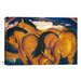 <strong>'Little Yellow Horses' by Franz Marc Painting Print on Canvas</strong> by iCanvasArt