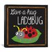 "<strong>""Ladybug"" Canvas Wall Art by Erin Clark</strong> by iCanvasArt"