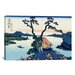 <strong>iCanvasArt</strong> 'Lake Suwa in the Shinano Province' by Katsushika Hokusai Graphic Art on Canvas