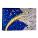 <strong>iCanvasArt</strong> Decorative Art 'Rainbow Bridge' by Bill Bell Painting Print on Canvas