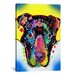 <strong>'Otter Pit Bull' by Dean Russo Graphic Art on Canvas</strong> by iCanvasArt