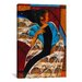 iCanvasArt 'Nyam' by Keith Mallett Painting Print on Canvas