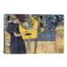 <strong>iCanvasArt</strong> 'Musik I 1895' by Gustav Klimt Painting Print on Canvas