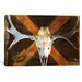 <strong>iCanvasArt</strong> Canada Moose Skull Graphic Art on Canvas