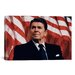 <strong>iCanvasArt</strong> Political 'Ronald Reagan Portrait' Photographic Print on Canvas