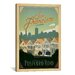 <strong>'Postcard Road - San Francisco, California' by Anderson Design Grou...</strong> by iCanvasArt