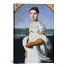 <strong>iCanvasArt</strong> 'Portrait De Mademoiselle Riviere' by Jean Auguste Ingres Painting Print on Canvas