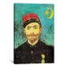 <strong>iCanvasArt</strong> 'Portrait of Milliet, Lieutenant Zouaves' by Vincent van Gogh Painting Print on Canvas