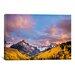 iCanvasArt 'Fall Valley' by Dan Ballard Photographic Print on Canvas