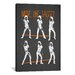 iCanvasArt Move Like Jagger by Maximilian San Graphic Art on Canvas in Black