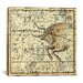 <strong>iCanvasArt</strong> Celestial Atlas - Plate 14 (Taurus) by Alexander Jamieson Graphic Art on Canvas in Beige