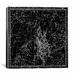 <strong>iCanvasArt</strong> Celestial Atlas - Plate 4 (Auriga) by Alexander Jamieson Graphic Art on Canvas in Black