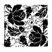 <strong>iCanvasArt</strong> Grapes and Buds by Mindy Sommers Graphic Art on Canvas in Black / White