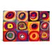 <strong>iCanvasArt</strong> 'Squares with Concentric Circles' by Wassily Kandinsky Painting Print on Canvas