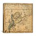 iCanvasArt Celestial Atlas - Plate 19 (Libra, Scorpio) by Alexander Jamieson Graphic Art on Canvas in Beige