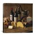 "iCanvasArt ""Wine and Cheese"" Canvas Wall Art by Michael Harrison"