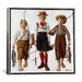 <strong>'The Catch' by Norman Rockwell Painting Print on Canvas</strong> by iCanvasArt