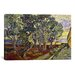 iCanvasArt 'The Garden of Saint Paul's Hospital' by Vincent Van Gogh Painting Print on Canvas