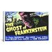 <strong>The Ghost of Frankenstein Vintage Movie Poster Canvas Print Wall Art</strong> by iCanvasArt