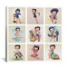 <strong>The Many Faces of Betty Boop Graphic Art on Canvas in Multi-color</strong> by iCanvasArt