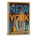 <strong>The City that Never Sleeps - New York City, New York by Anderson De...</strong> by iCanvasArt